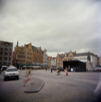 Blurry Bruges