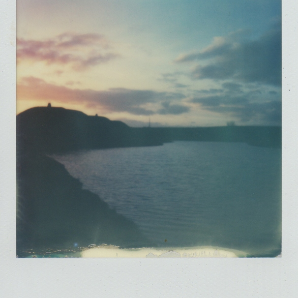Northumberlandia Sunset