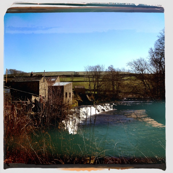 Waterfall at Bainsbridge