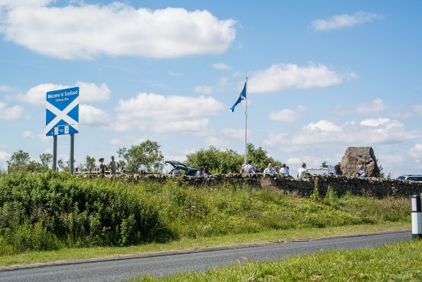 The Border to Scotland