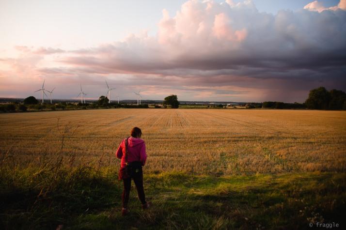 Helen in the landscape