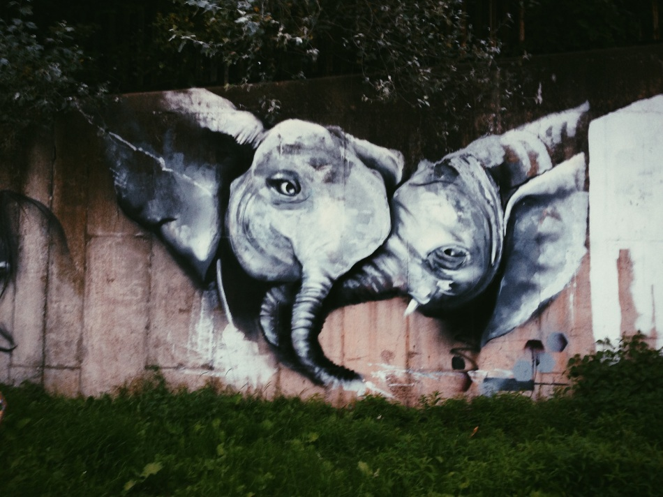 Graffiti Elephants