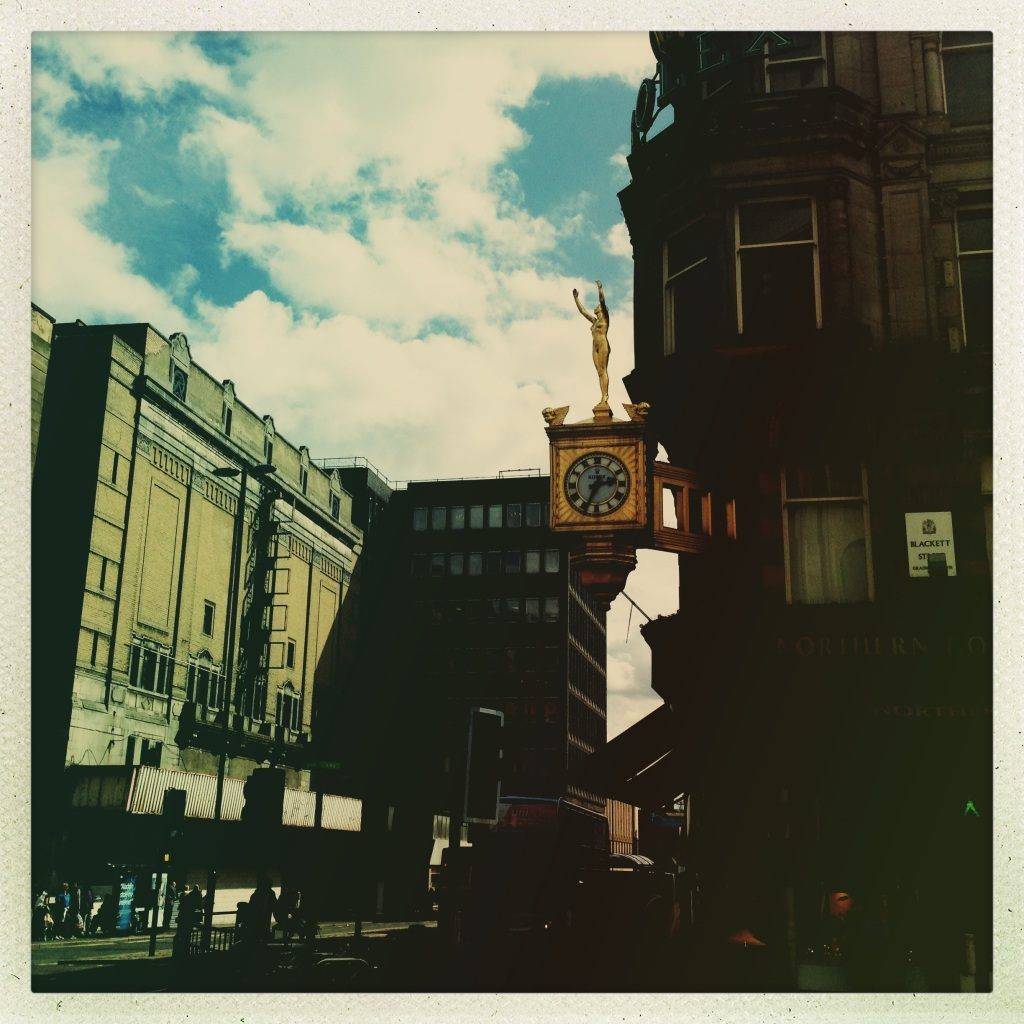 The Golden Lady Clock