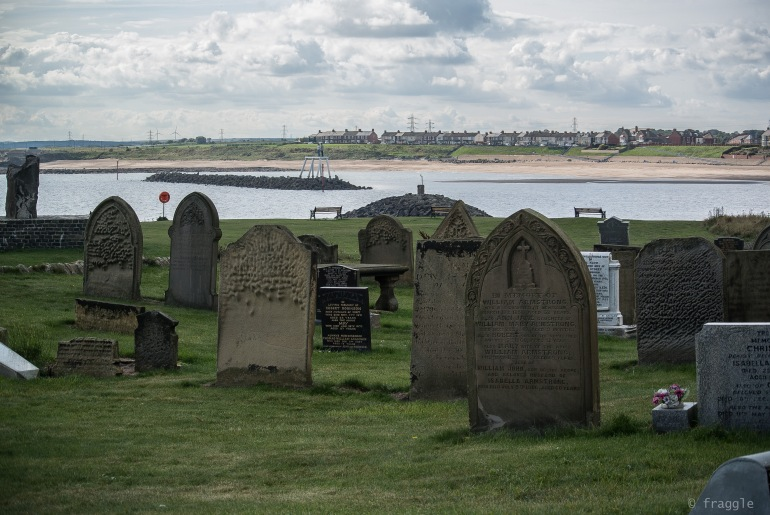 The Couple, view from church yard