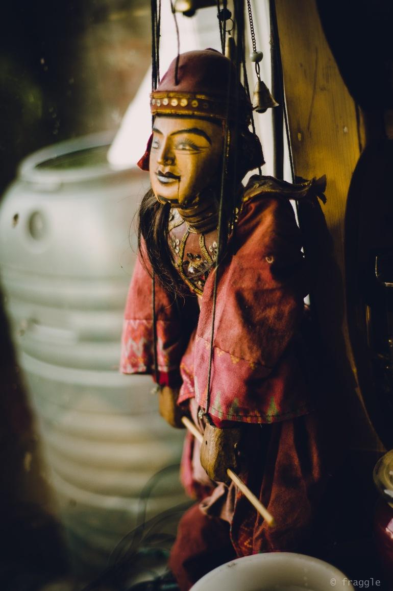 weird puppet guy