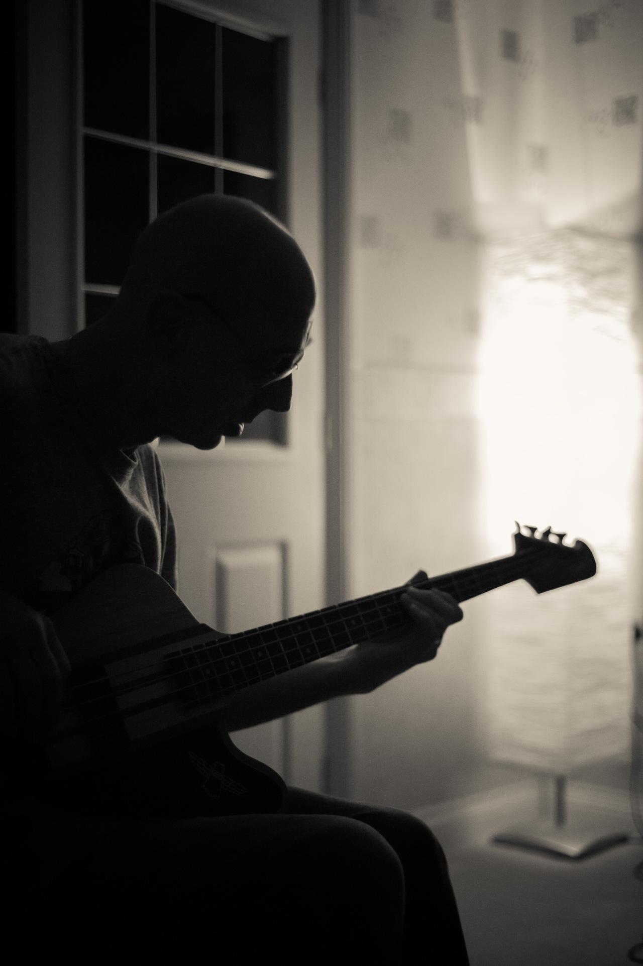Phil playing the Thunderbird