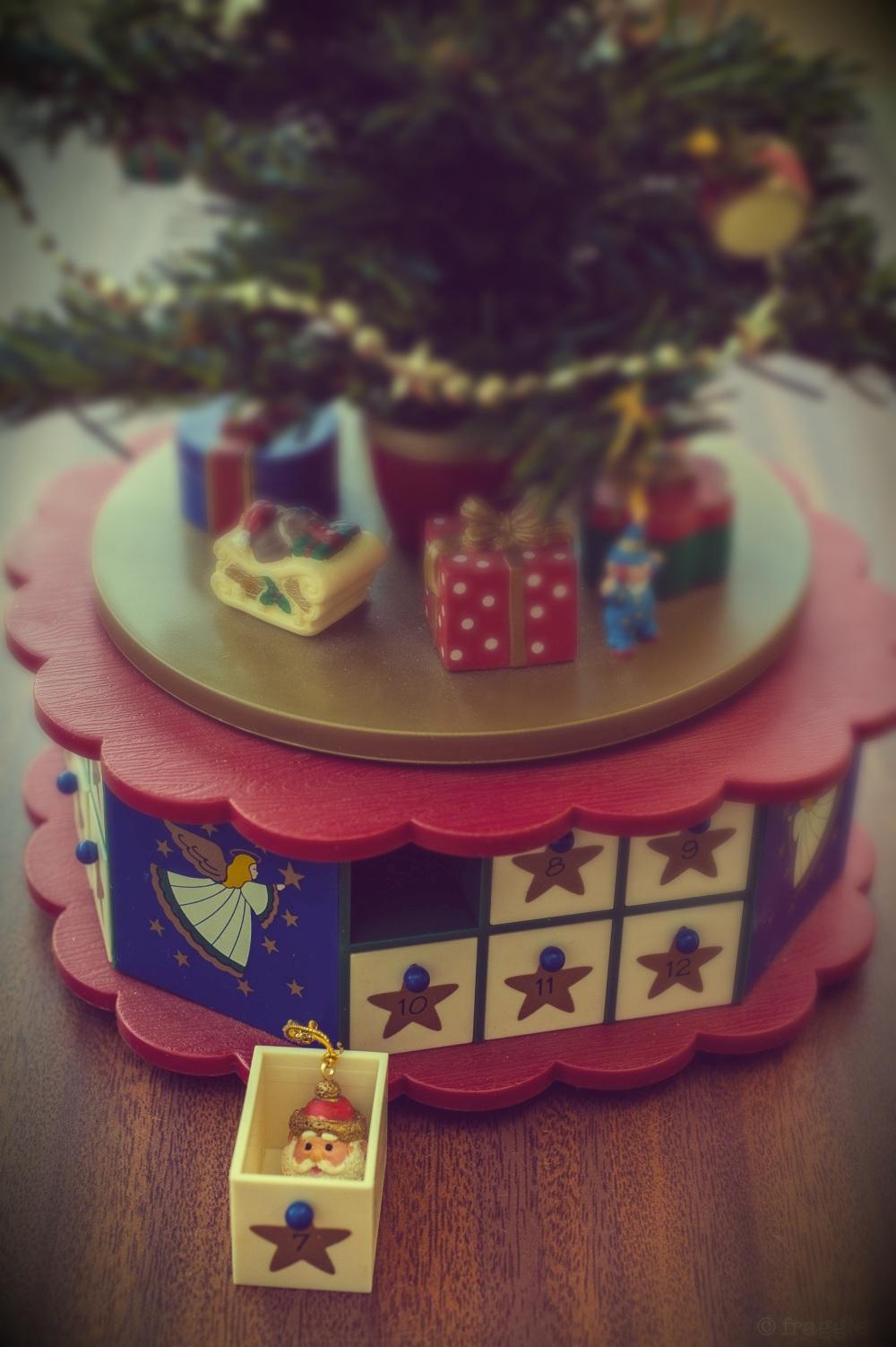 Mum's musical advent tree