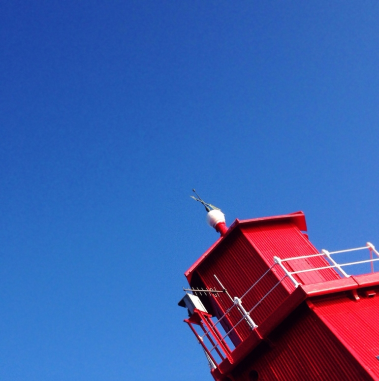 Herd Groyne Lighthouse