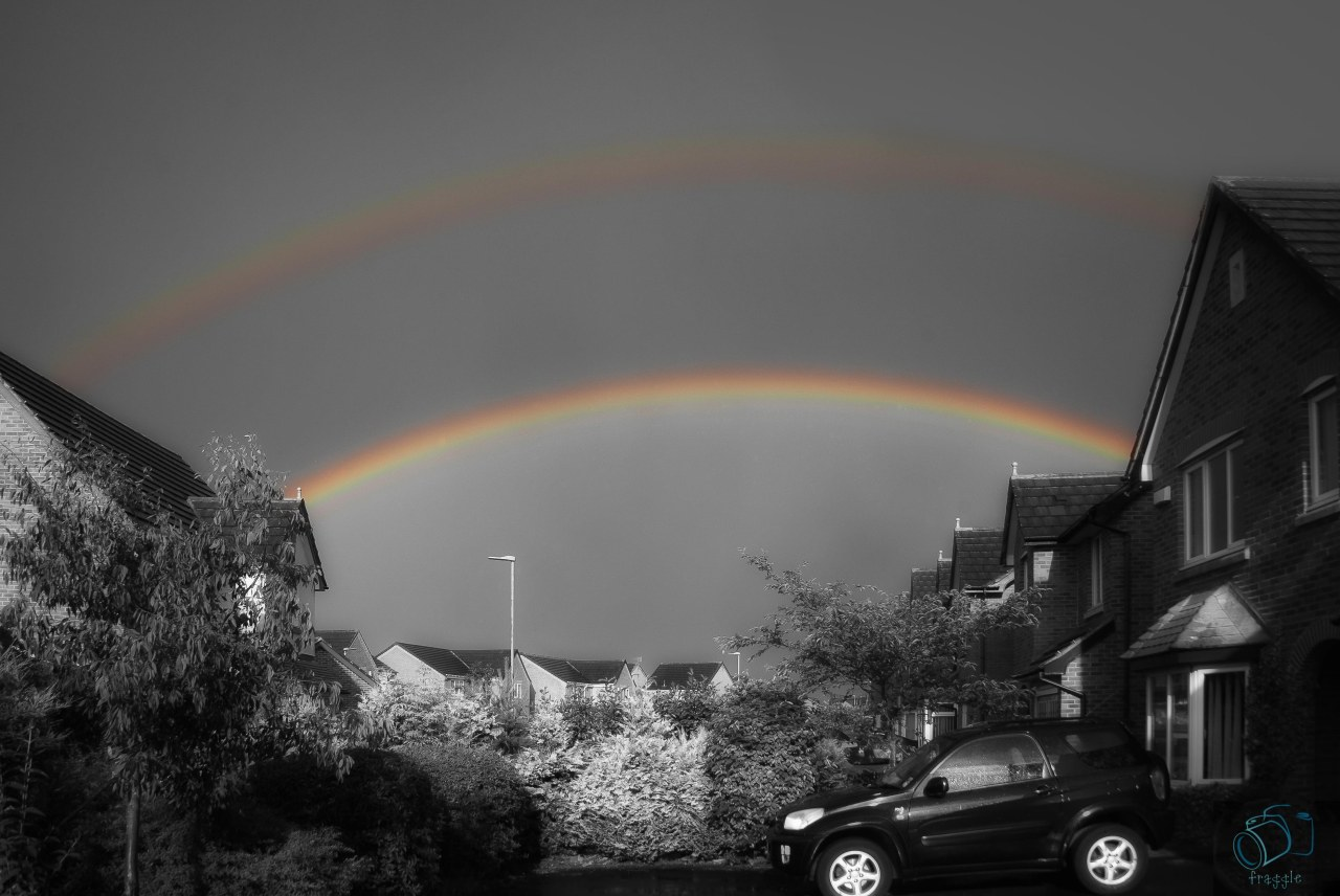 Selective colour- rainbows