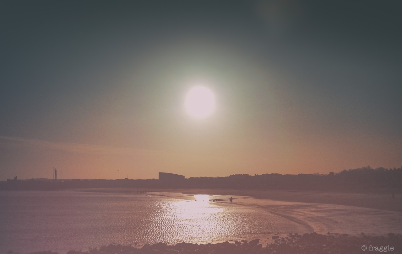 into the sun