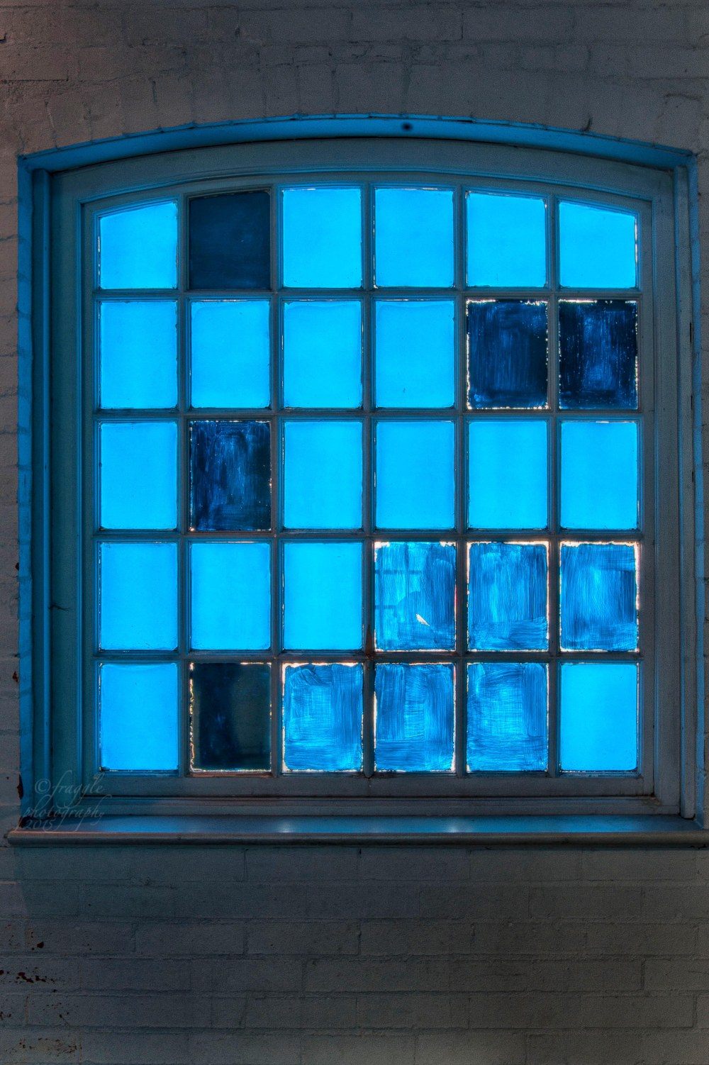 Blue sky window