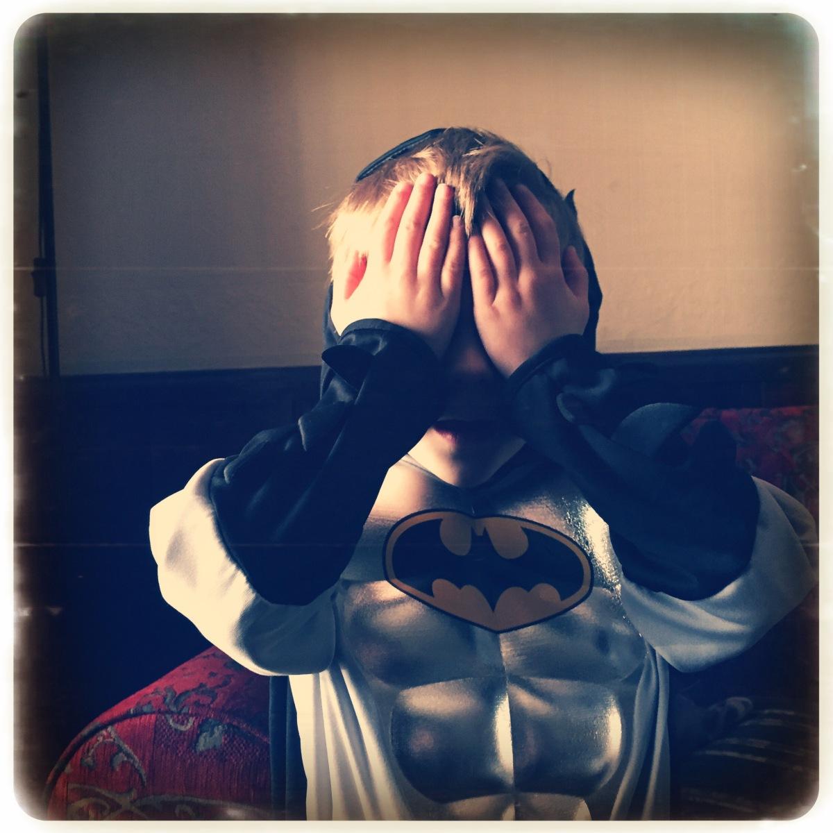 Batman Hides