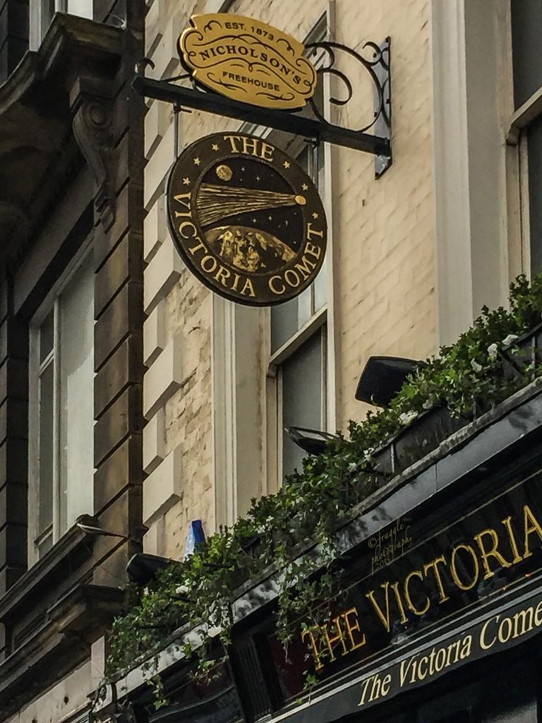 The Victoria Comet