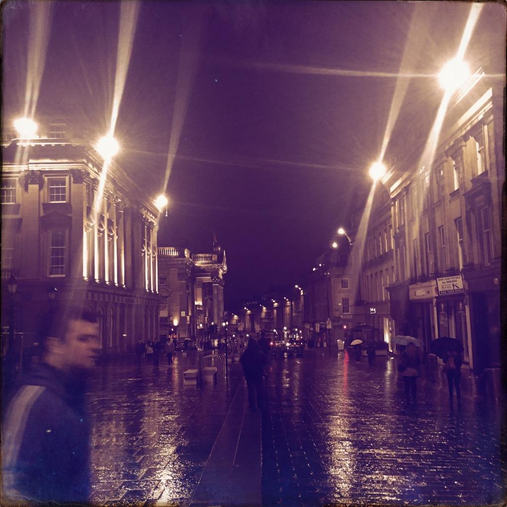 rainy night in the Toon