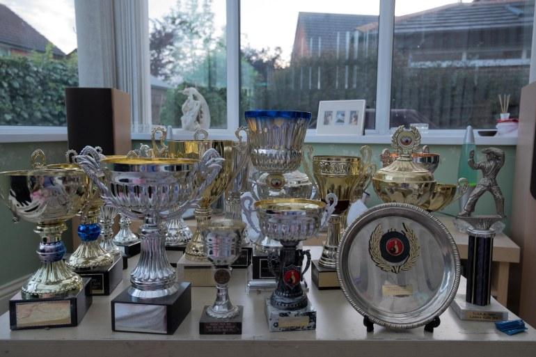 a few trophies