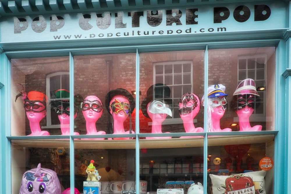 The Pink headed ladies of York (in disguise)