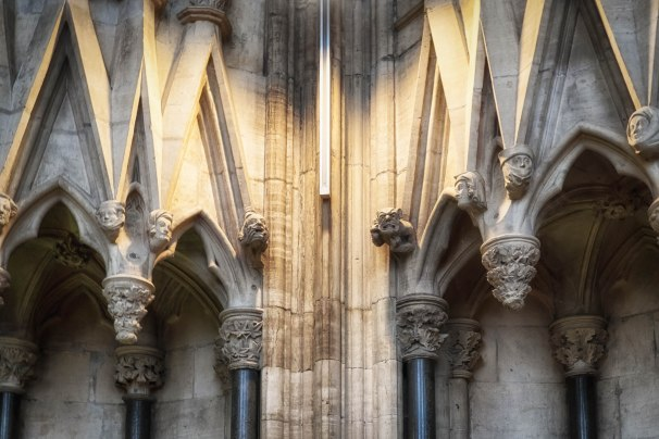 around the chapter house