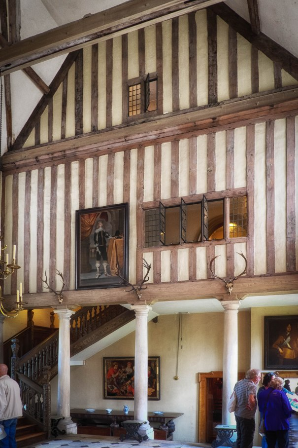 The medieval room