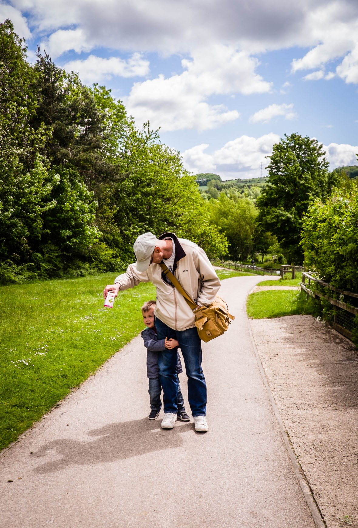 carry me Grandad!