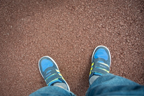 Cal's feet