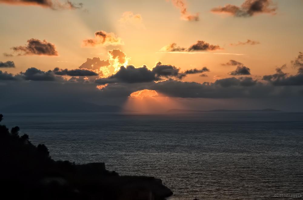 Sorrento Sunset,Italy 2013