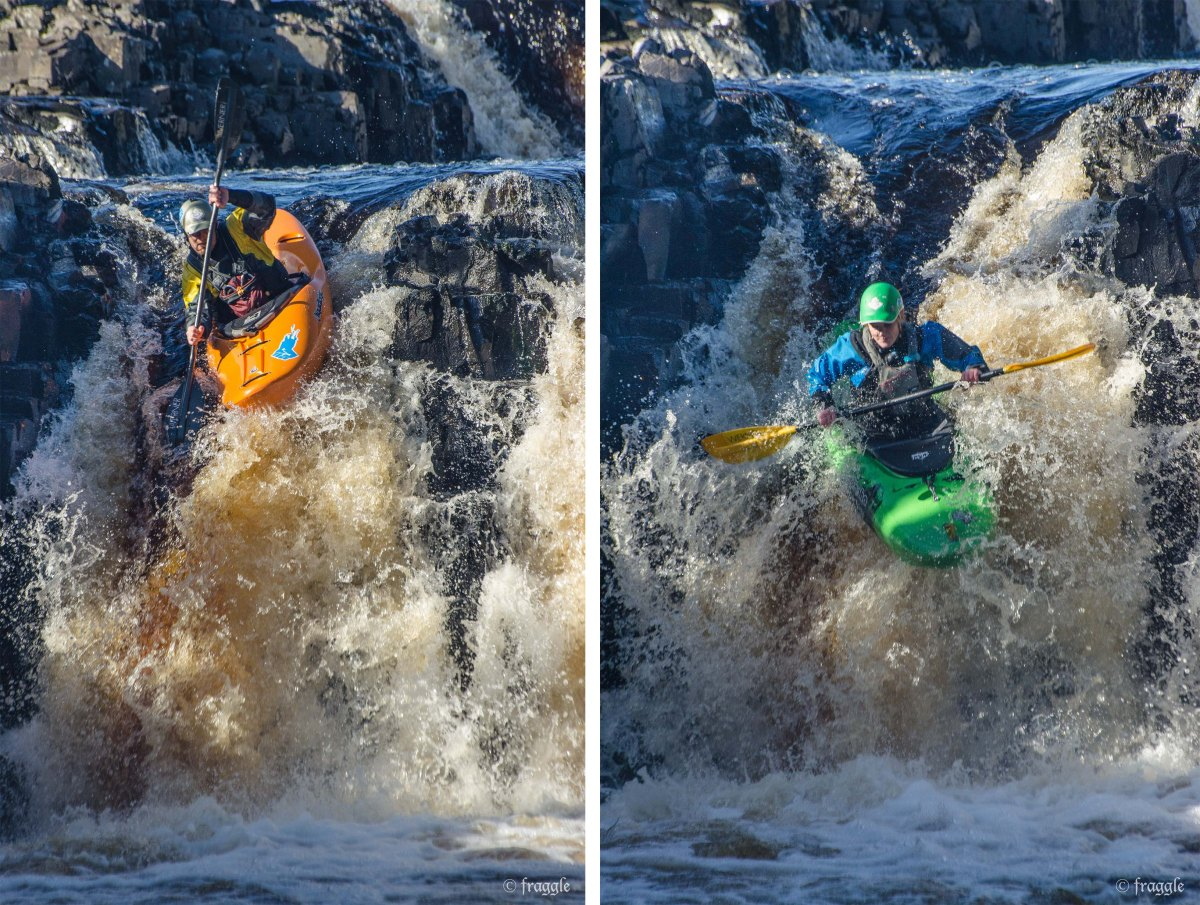 Kayaks on Low Force