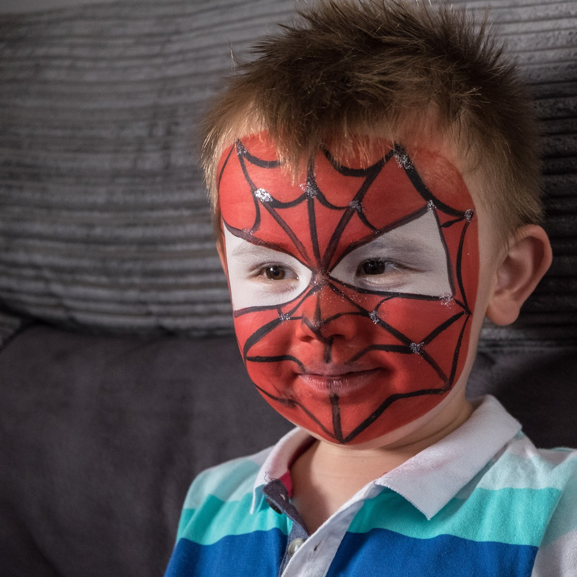 my little superhero.