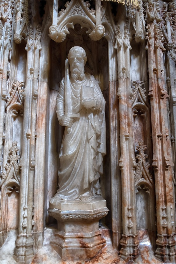 One of the Pulpit figures