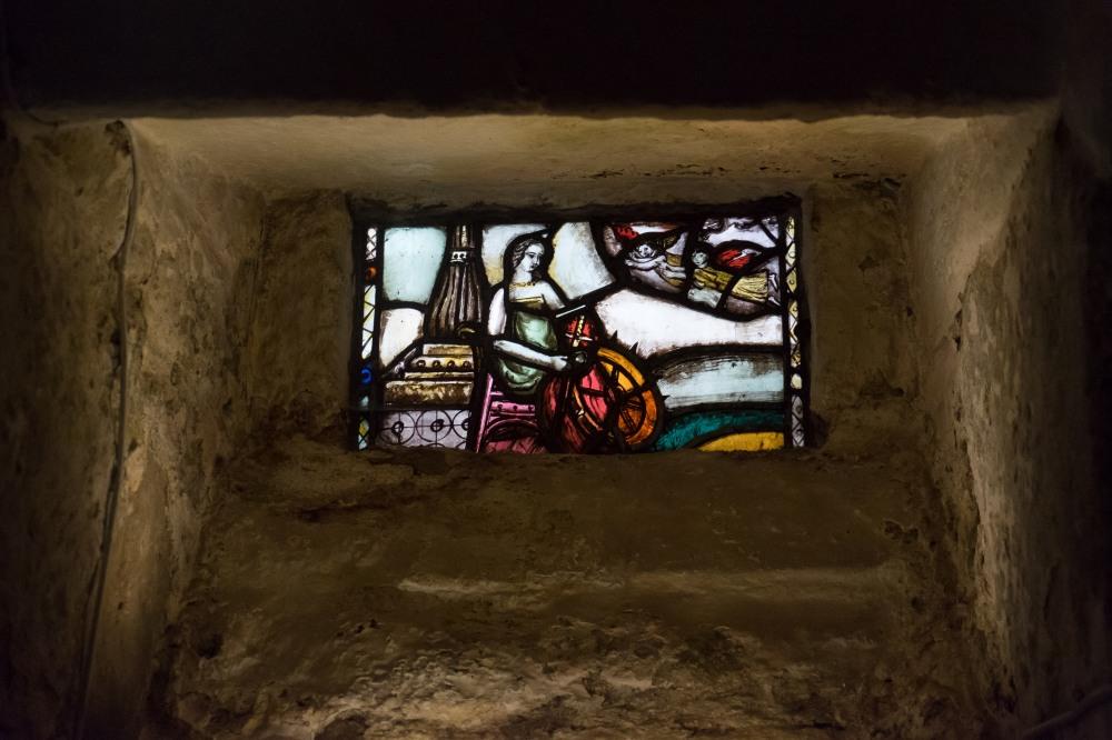Hidden gem in the crypt