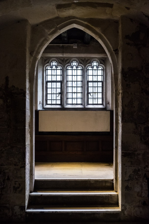 door to the crypt
