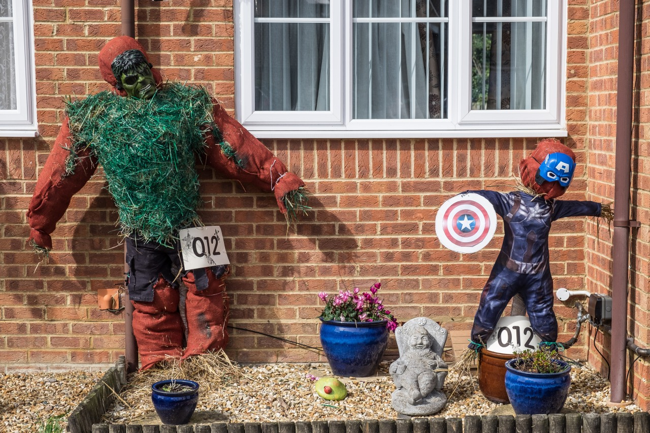 Marvel-lous Scarecrows by Chris Littlejohn