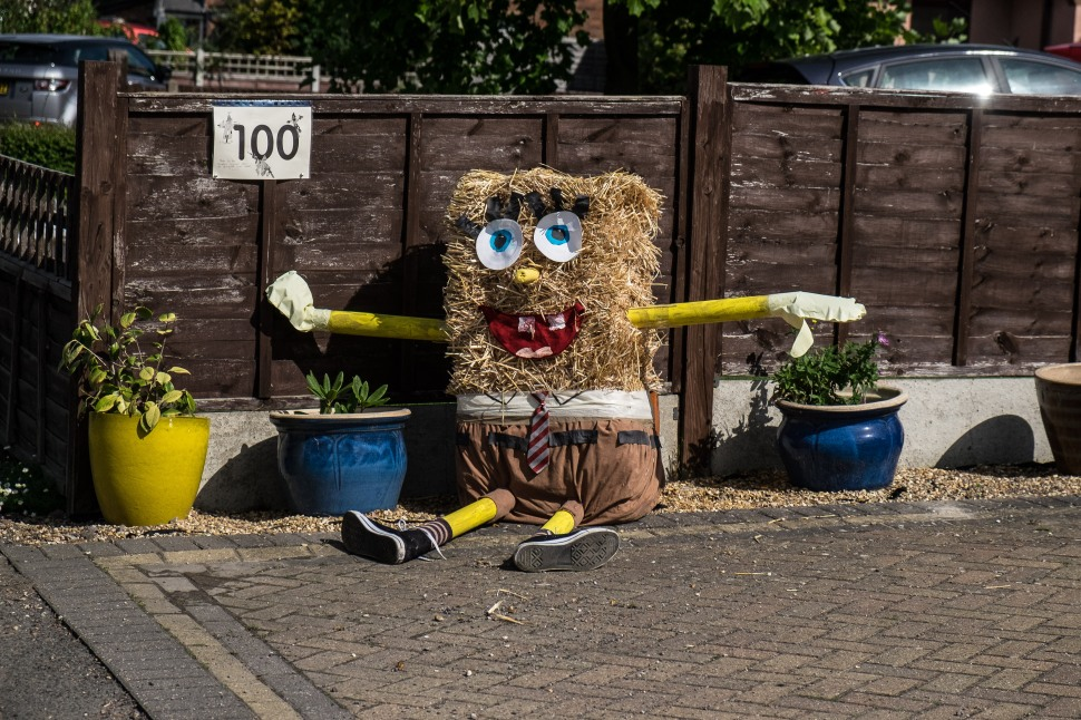 Sponge Bob Squarepants by Lower School reception year 1