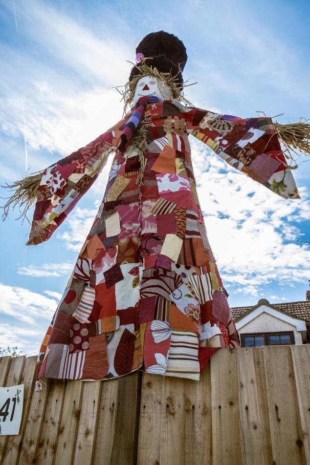Crowseph & his amazing technicolour scarecoat by Sam & Tim Hagan