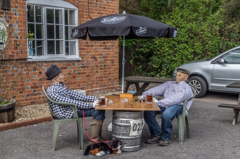 The Dominoe Players by The Musgrave Arms