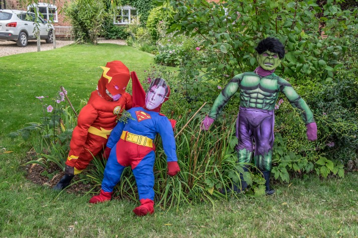 Super Heroes by The Whitely Family