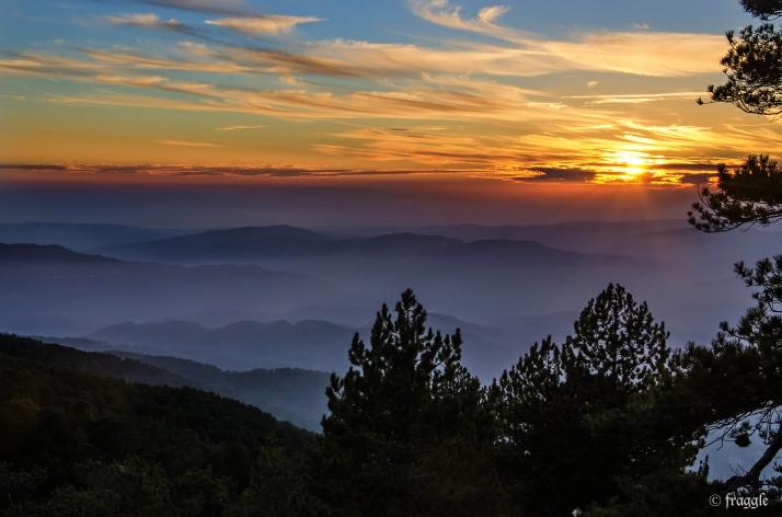 Triodes Mountains, Cyprus 2012