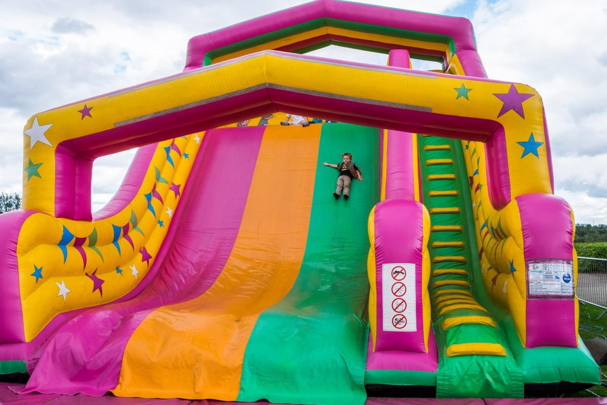 giant slide thing