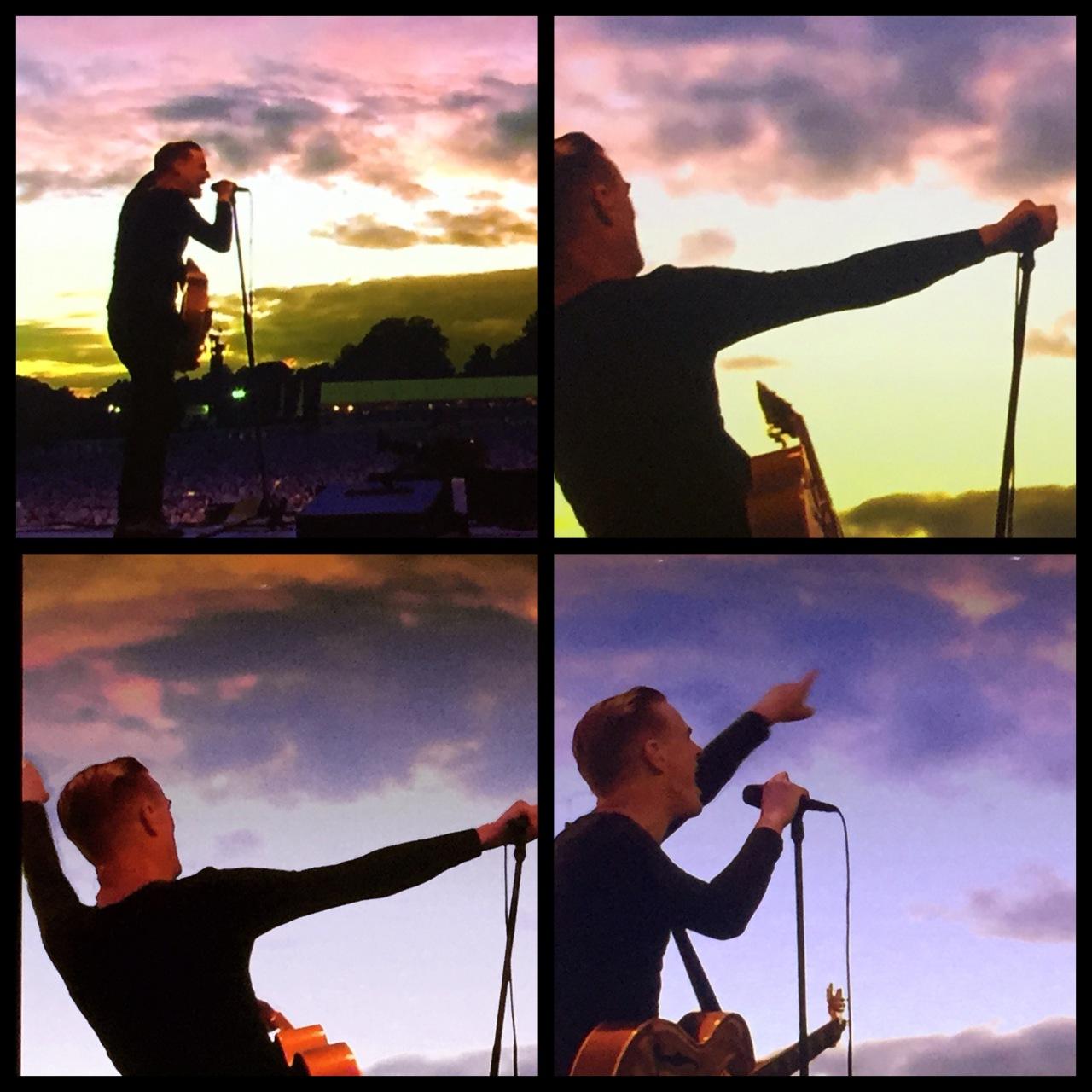 TV iphone shots :) Bryan Adams
