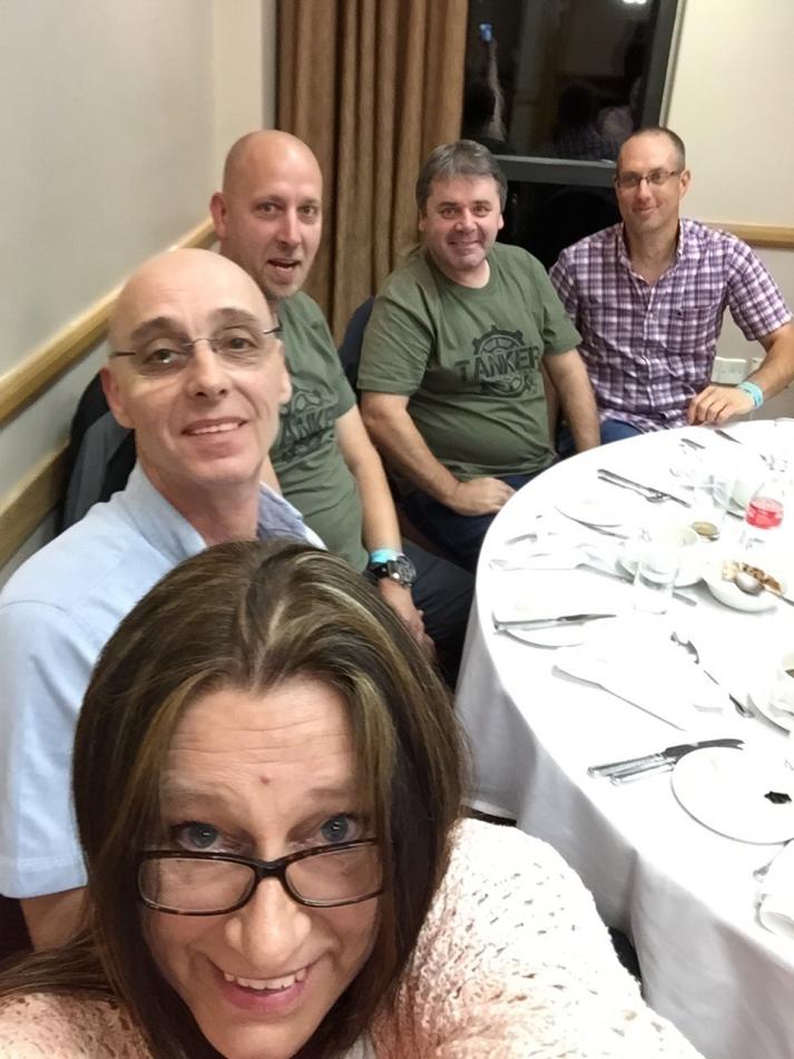 me, Phil,Kristoff Brian & Hermann