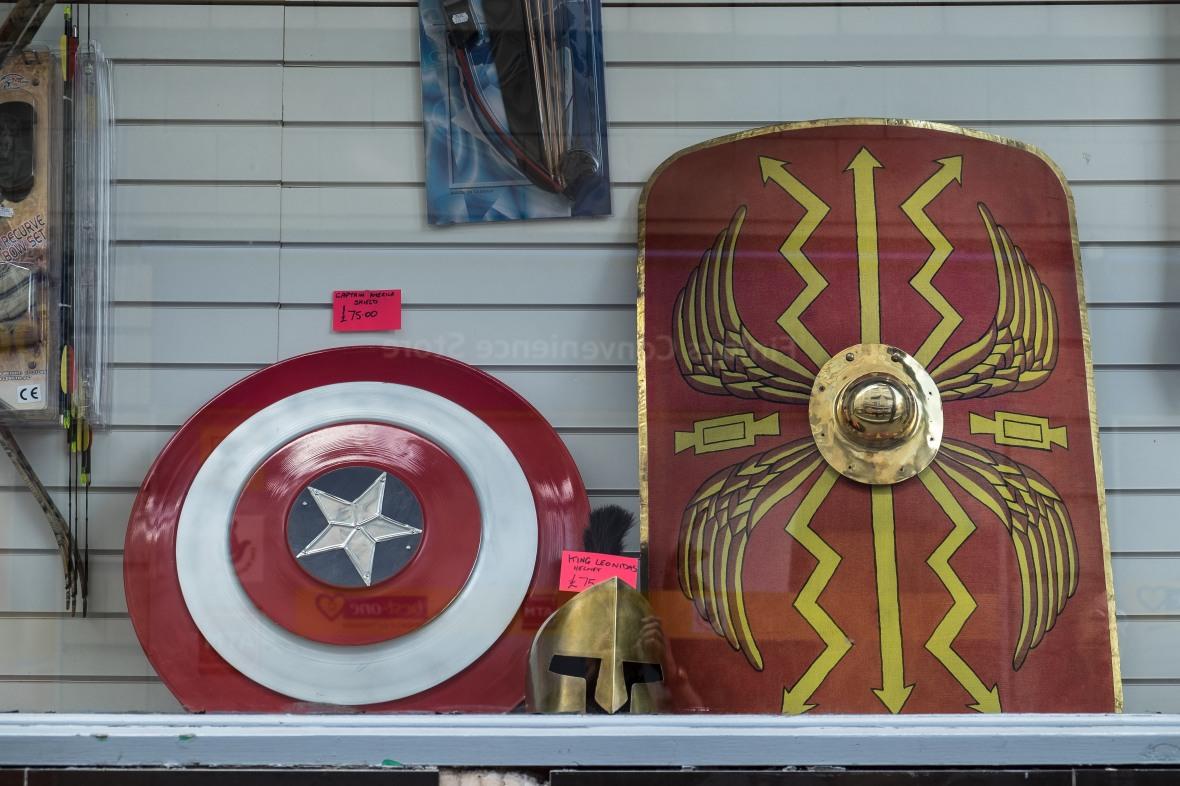 Superhero Shop