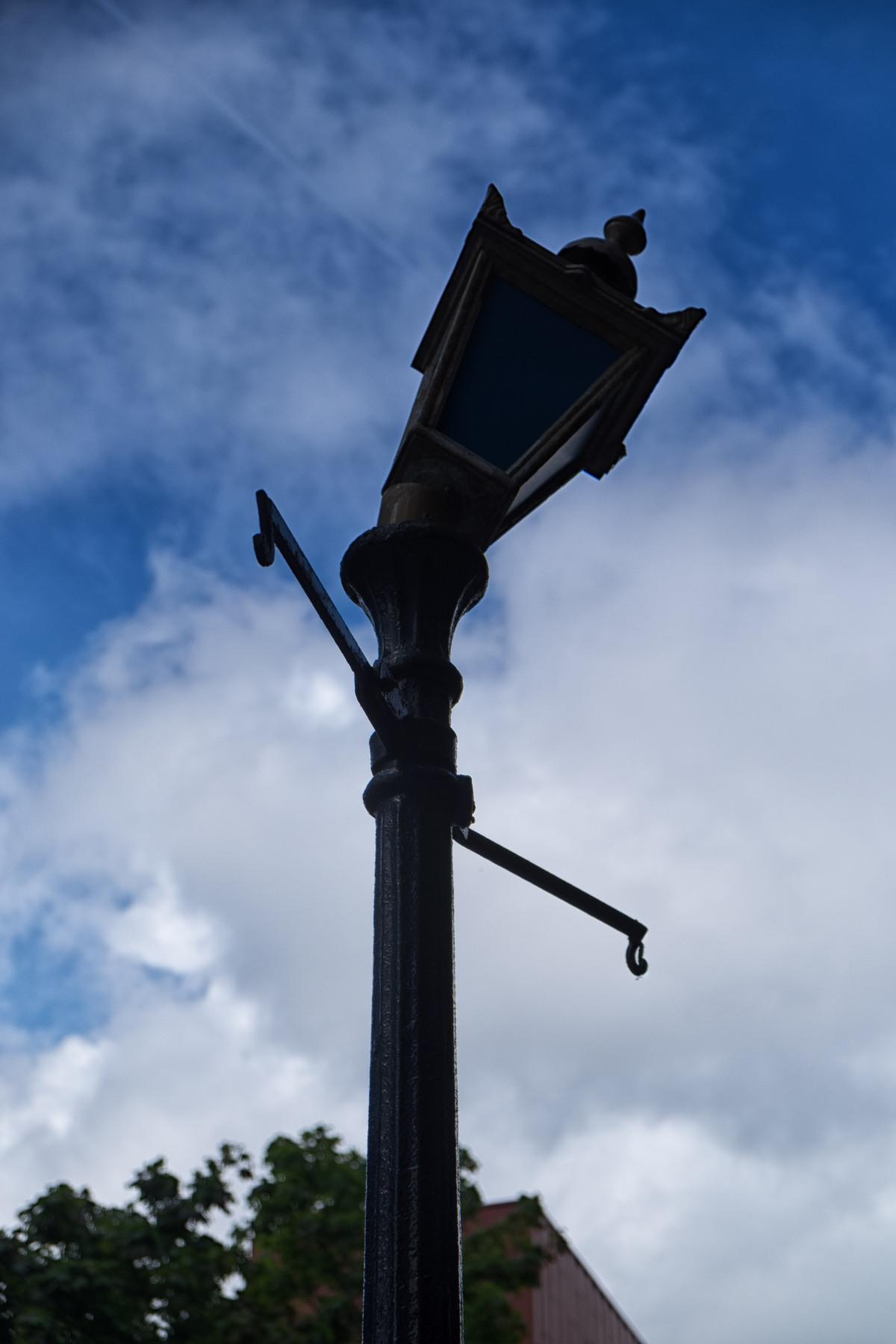 Dancing lamppost
