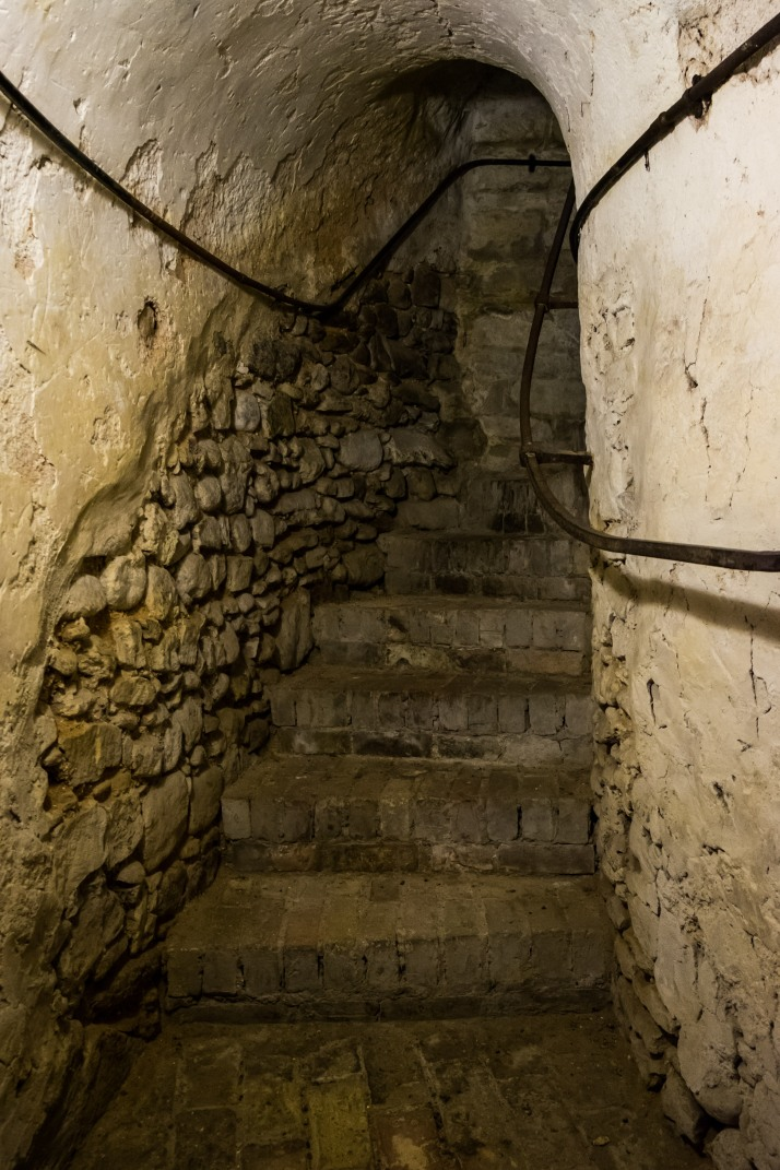 Crypt staircase