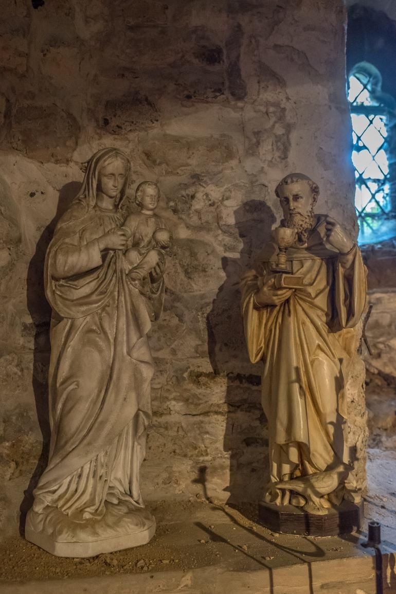 Saints in hiding