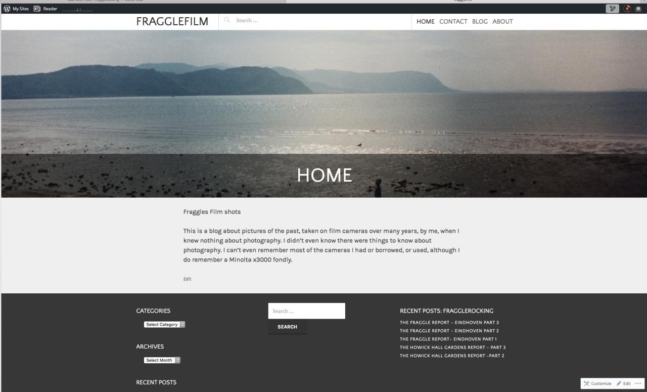 New blog looks nice! :)