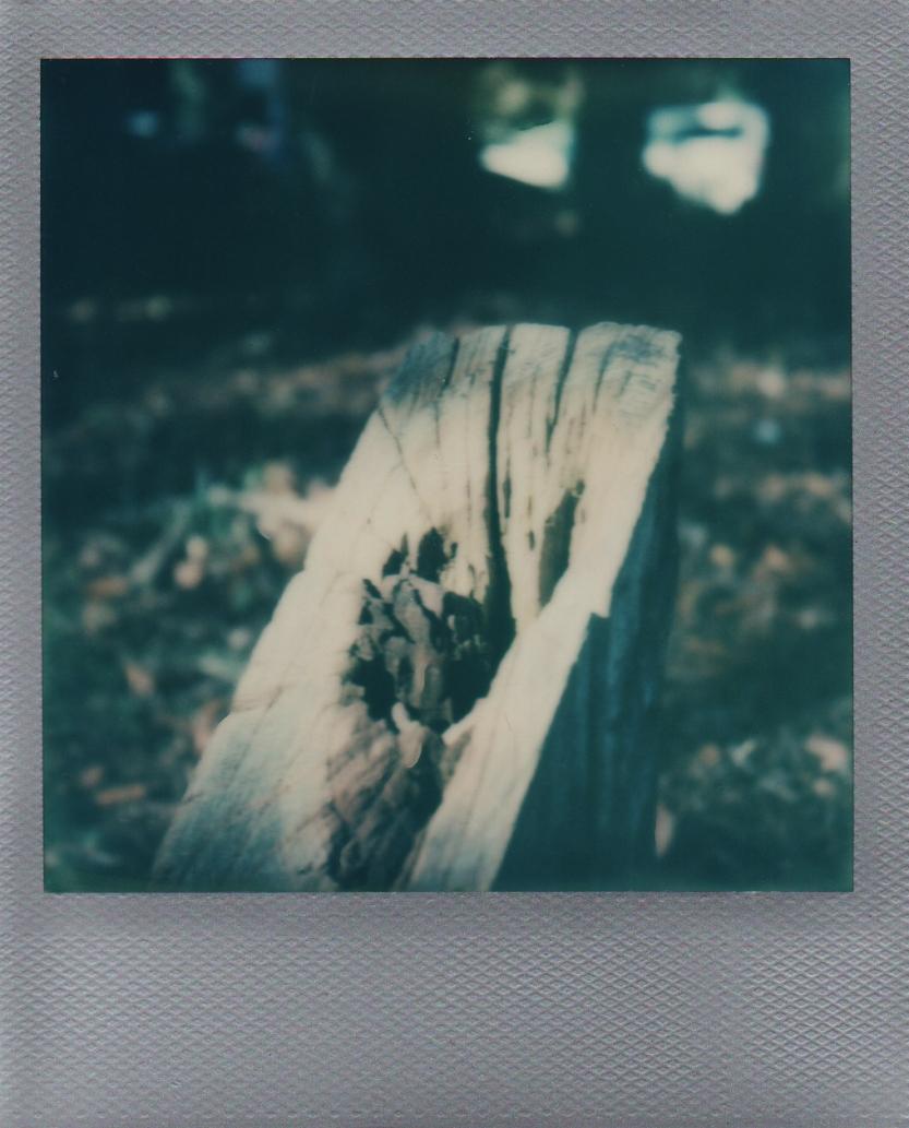 Wood post