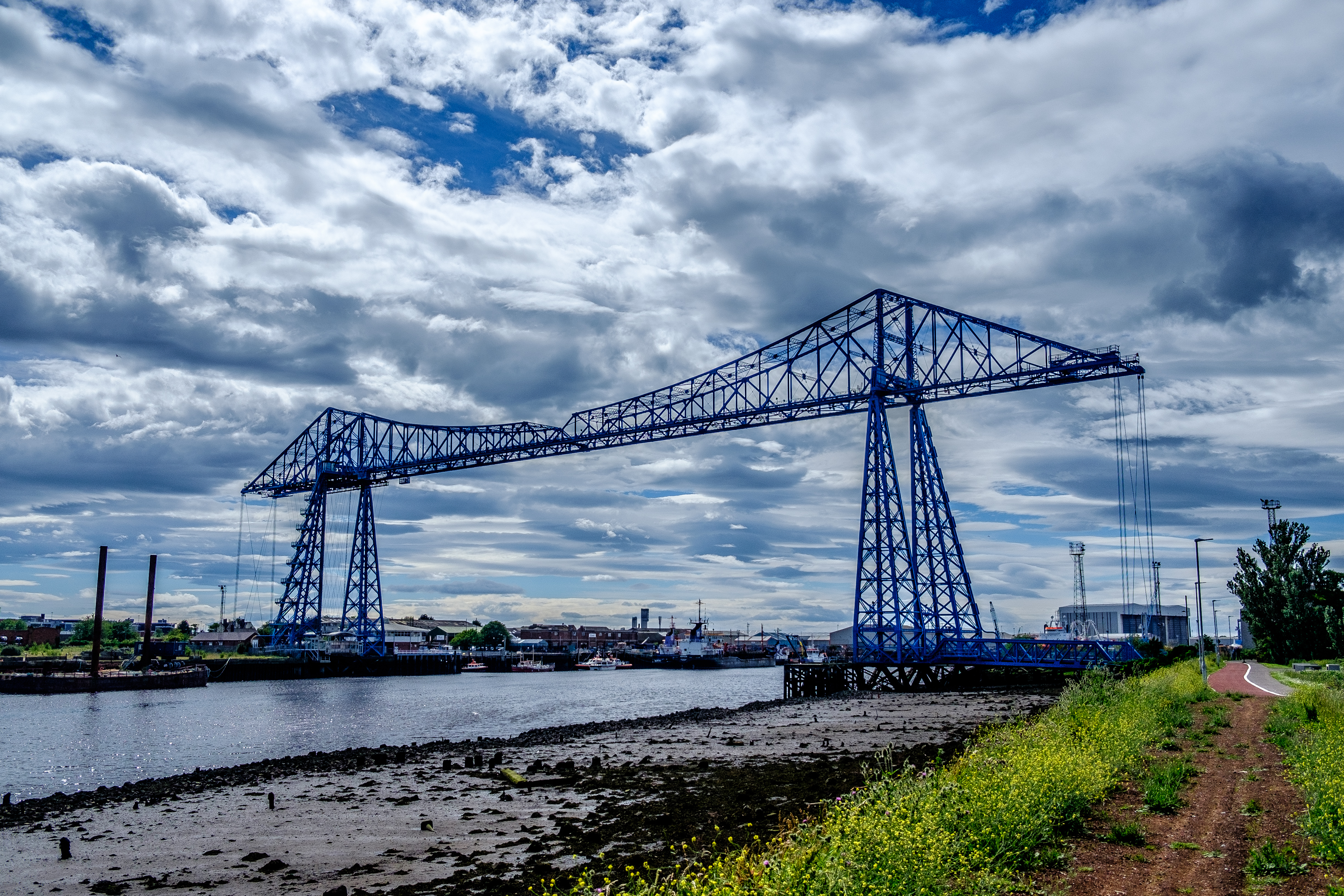 The Transporter Bridge & River Tees~July 2017