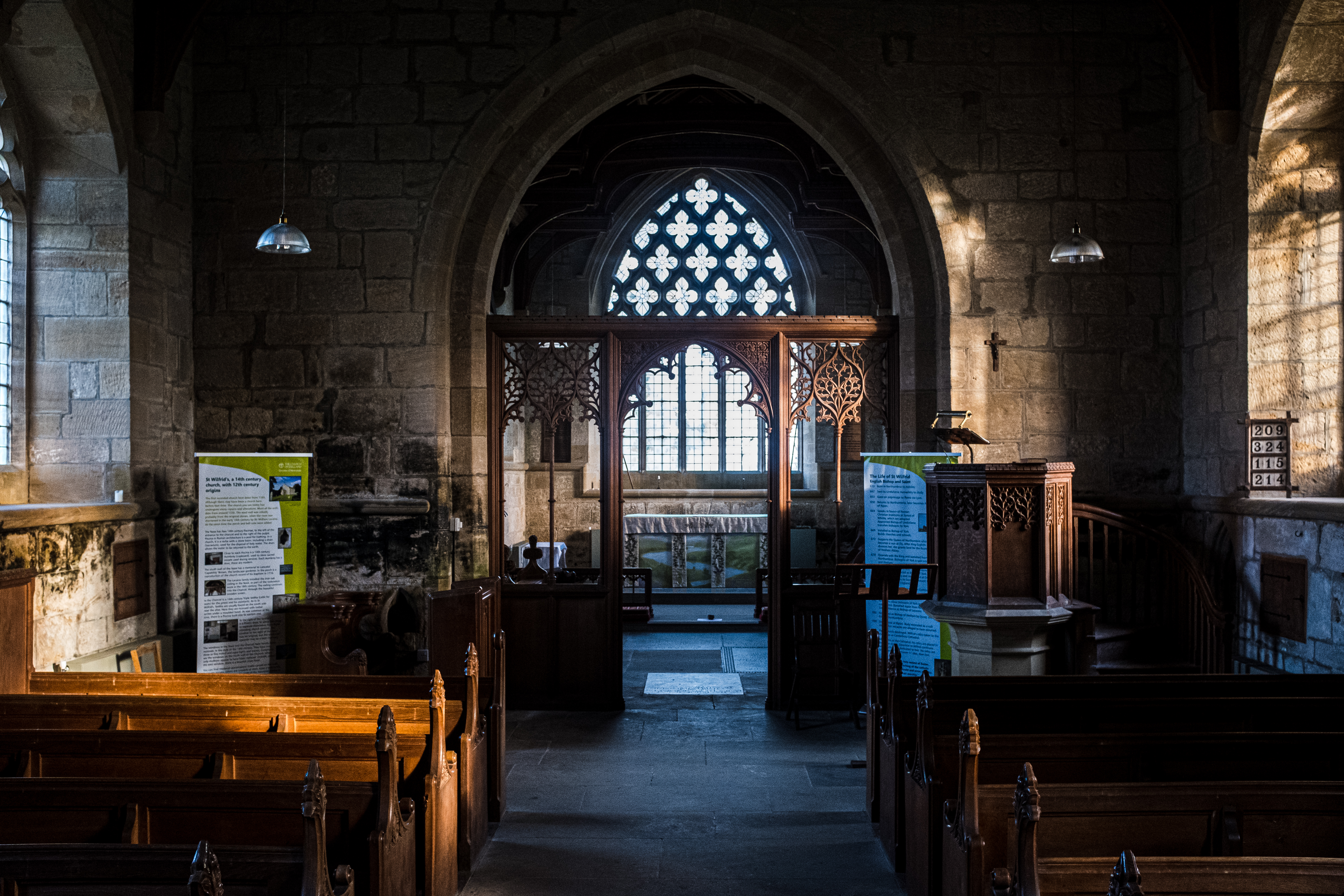 St. Wilfred's Church  & Kirkharle ~ Dec 2019 ~Part 2
